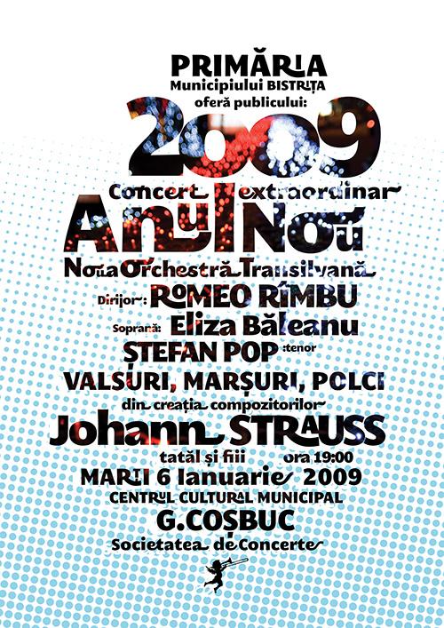 Concert Extraordinar de Anul Nou 2009