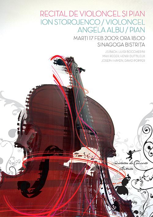 Recital de violoncel si pian