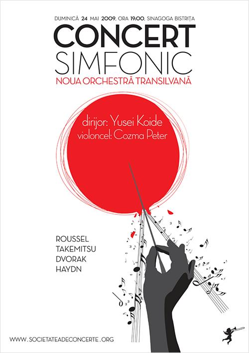Concert simfonic: Noua Orchestra Transilvana, Yusei Koide & Cozma Peter