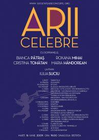Arii celebre cu sopranele Bianca Patras, Cristina Tohatan, Roxana Mihai, Maria Handoran