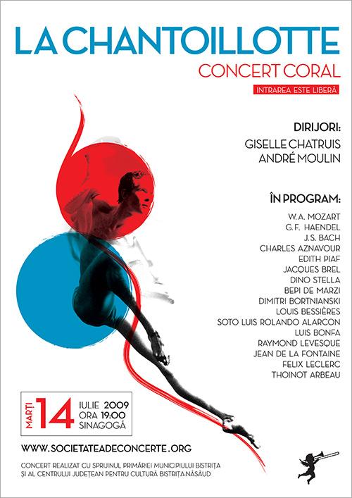 Concert coral: La Chantoillotte, Besançon