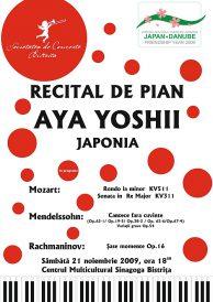 RECITAL DE PIAN: AYA  YOSHII – JAPONIA