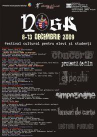 NOSA 6-13 Decembrie 2009: Festival Cultural pentru elevi si studenti