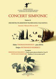 Concert simfonic sustinut de Orchestra Filarmonicii Transilvania Cluj-Napoca