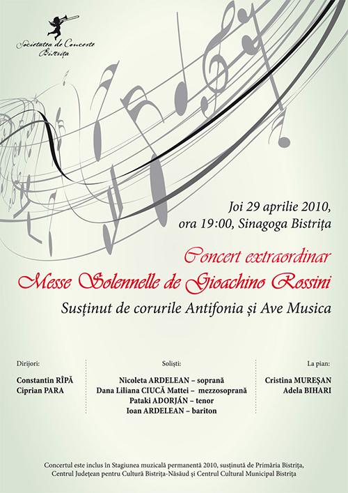 Concert extraordinar sustinut de corurile Antifonia si Ave Musica