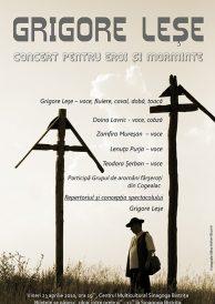 Grigore Lese – Concert pentru eroi si morminte