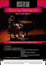 Recital de pian: Silvia Sbarciu