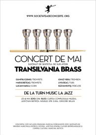 Concert de mai – Transilvania Brass