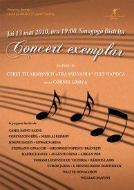"""Concert exemplar – Corul Filarmonicii """"Transilvania"""" Cluj-Napoca"""