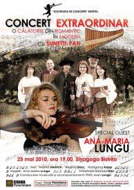 Concert extraordinar Sunetti-Pan Germania