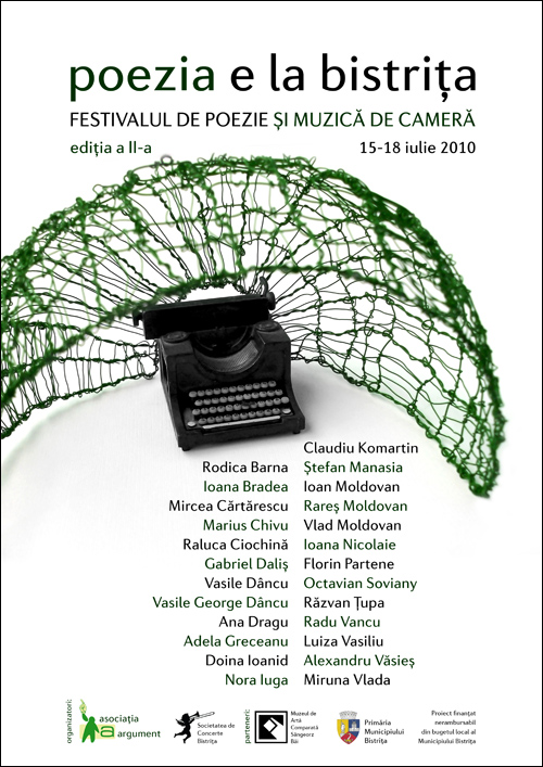 Poezia e la Bistrita – Festivalul de poezie si muzica de camera editia a II-a
