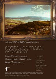 Recital cameral extraordinar