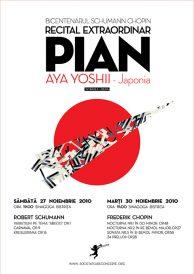 Bicentenarul Schumann – Chopin: Recital Extraordinar de Pian – Aya Yoshii (Japonia)