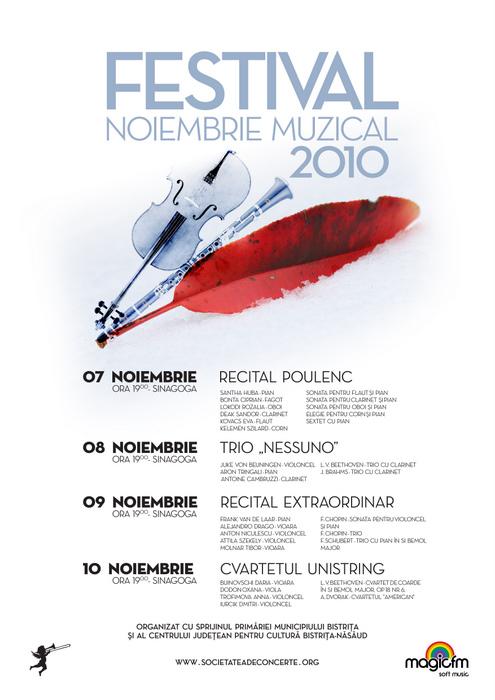 Festival Noiembrie Muzical 2010