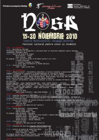 NOSA 2010 – Festival Cultural pentru elevi si studenti