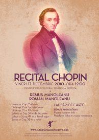 Recital Chopin si lansari de carte