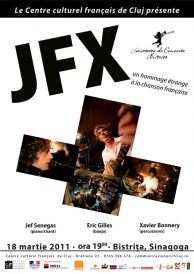 Recital JFX: un omagiu muzicii franceze