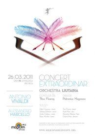 Concert extraordinar sustinut de orchestra Liutaria