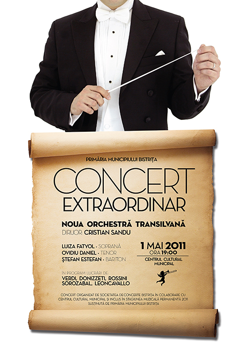 Concert extraordinar sustinut de Noua Orchestra Transilvana
