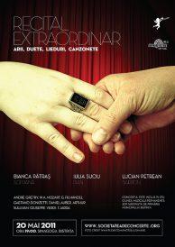 Recital extraordinar: Bianca Patras, Lucian Petrean, Iulia Suciu – Arii, duete, lieduri, cazonete