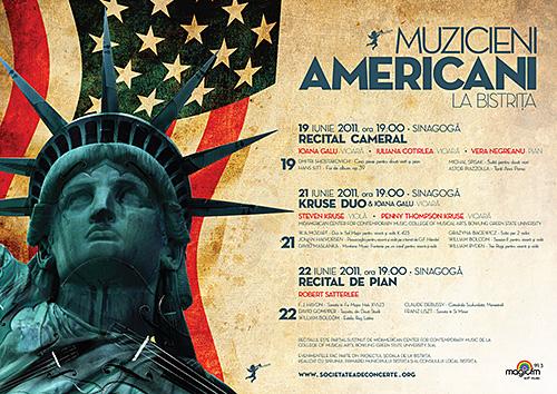 Muzicieni Americani la Bistrita