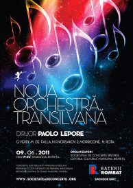 Concert Noua Orchestra Transilvana – Dirijor: Paolo Lepore