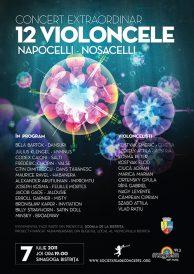 Concert extraordinar 12 violoncele: Napocelli – Nosacelli
