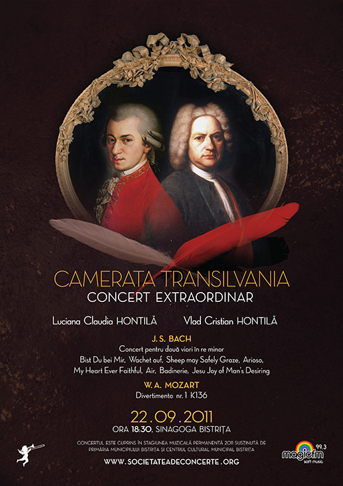 Concert extraordinar: Camerata Transilvania