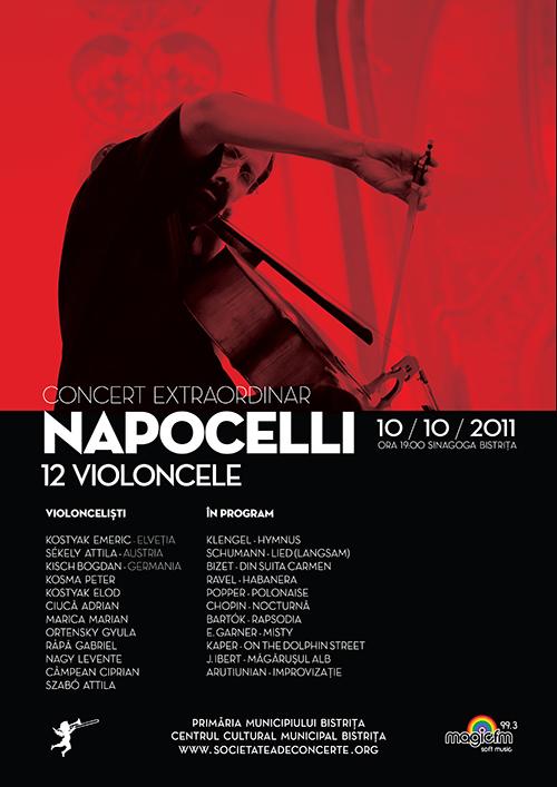 Concert extraordinar 12 violoncele Napocelli