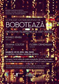Concert extraordinar de Bobotează