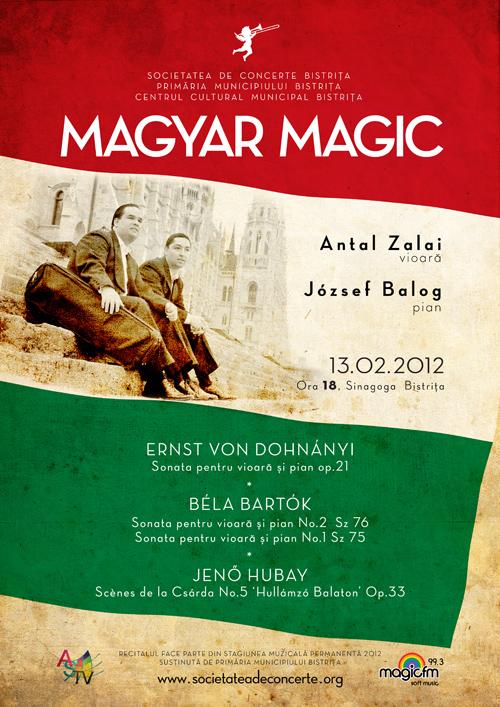 Recital extraordinar: Magyar Magic