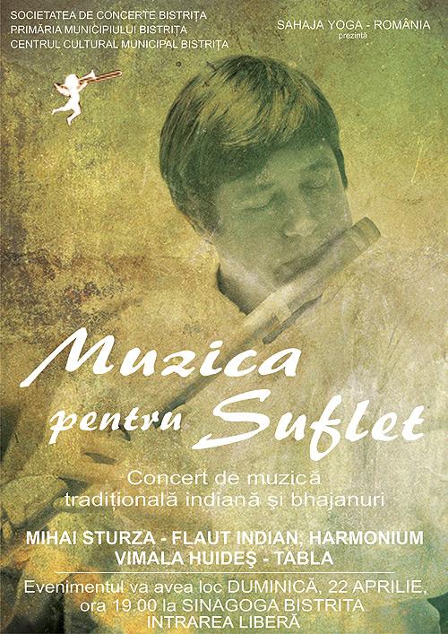 Muzică pentru suflet: Concert de muzică tradițională indiană și bhajanuri