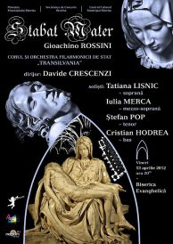 "Corul și Orchestra Filarmonicii Transilvania Cluj – ""STABAT MATER"" de Gioachino Rossini"