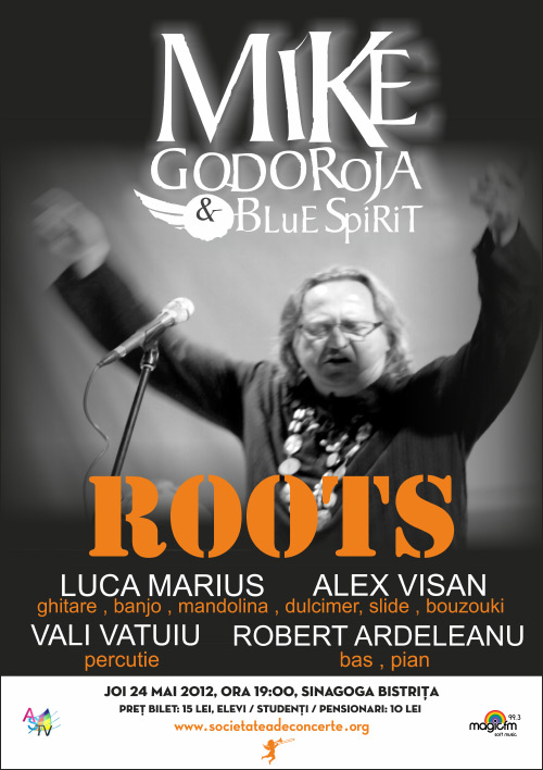 Mike Godoroja & Blue Spirit – ROOTS