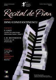 Recital de pian susținut de Dinu Constantinescu