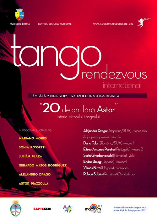 Tango Rendezvous International – 20 de ani fara Astor