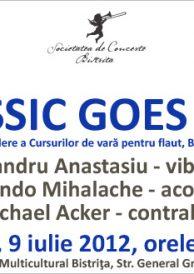 Classic Goes Jazz – Concert de deschidere a Cursurilor de vara pentru flaut, Bistrita, editia a VII-a