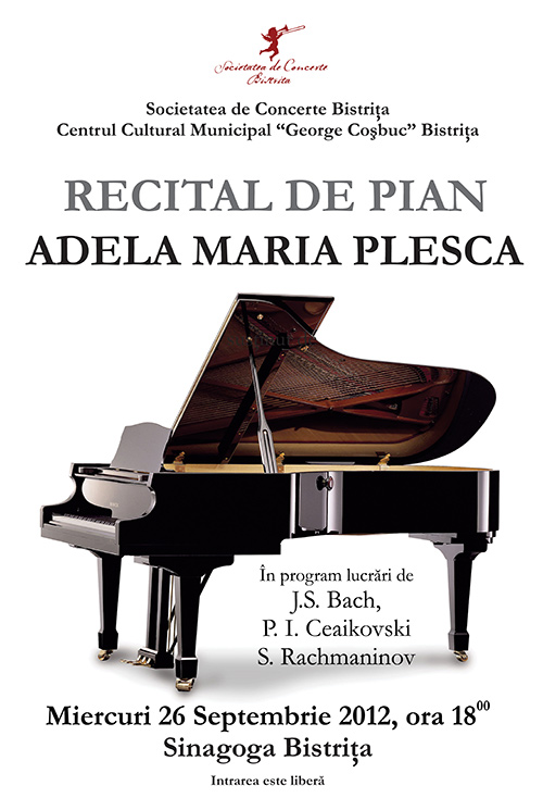 Recital de pian: Adela Maria Plesca