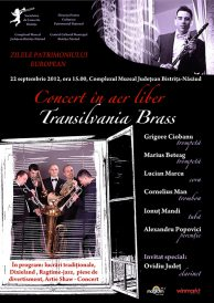 Concert in aer liber Transilvania Brass