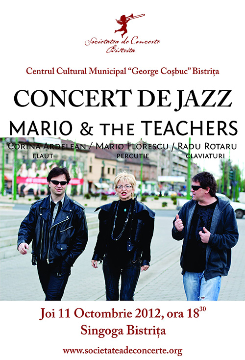 Concert de jazz: Mario & The Teachers
