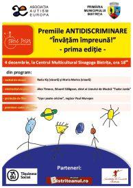 """Premiile Antidiscriminare """"Învățăm împreună"""" – prima ediție"""