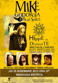 Concert eveniment: Mike Godoroja & Blue Spirit – Hippie cu Diamante