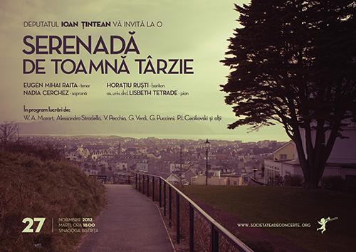 Deputatul Ioan Tintean va invita la o serenada de toamna tarzie