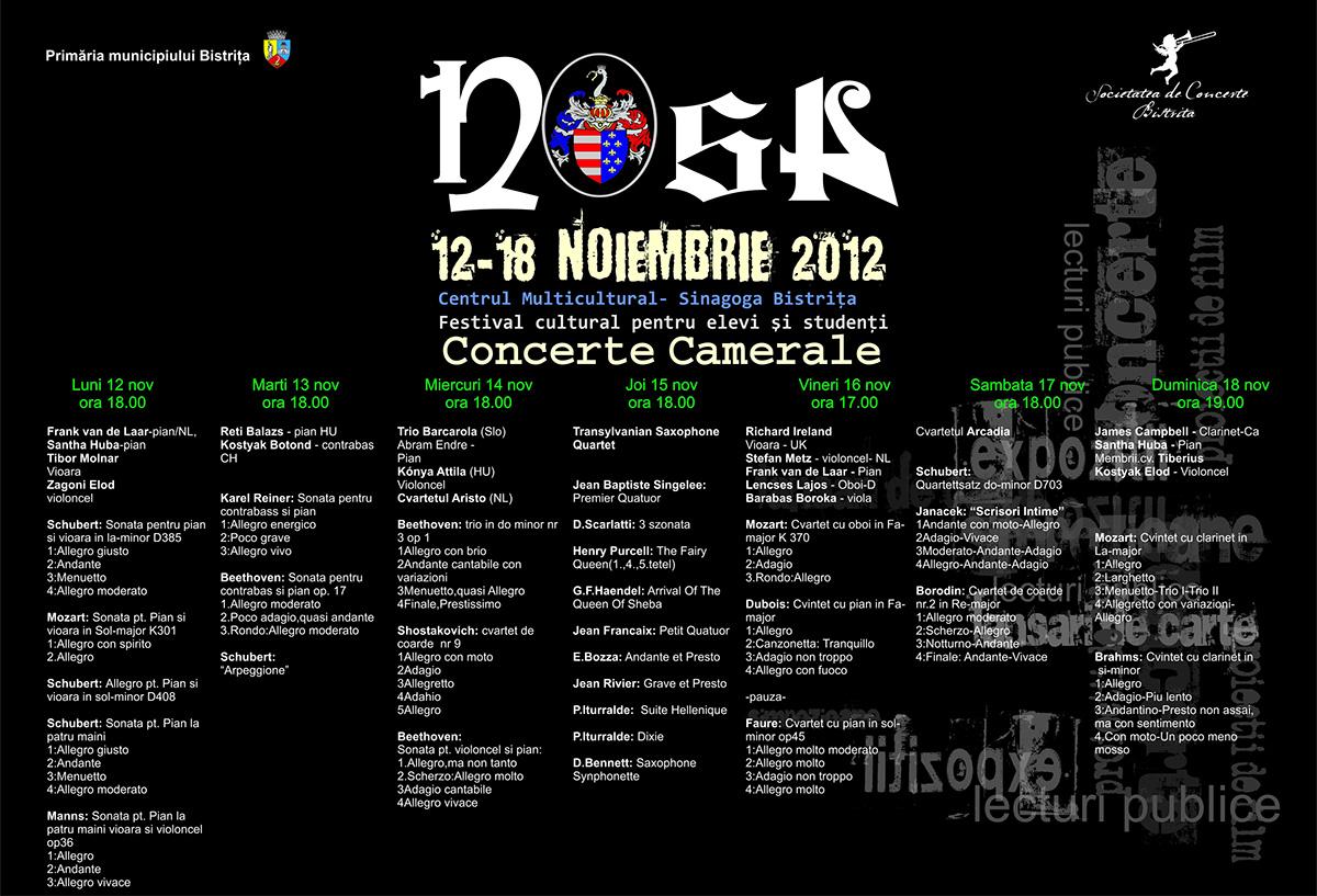 Program Muzical Nosa 2012