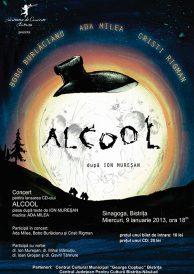 Concert pentru lansarea CD-ului Alcool in Bistrita
