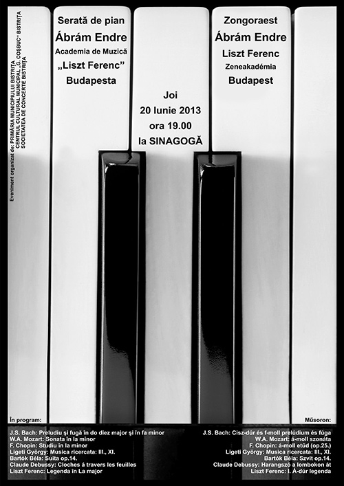 Poster Pian Abram Endre