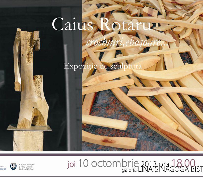 Expoziție de sculptură: Caius Rotaru – crochiuri, eboșoare