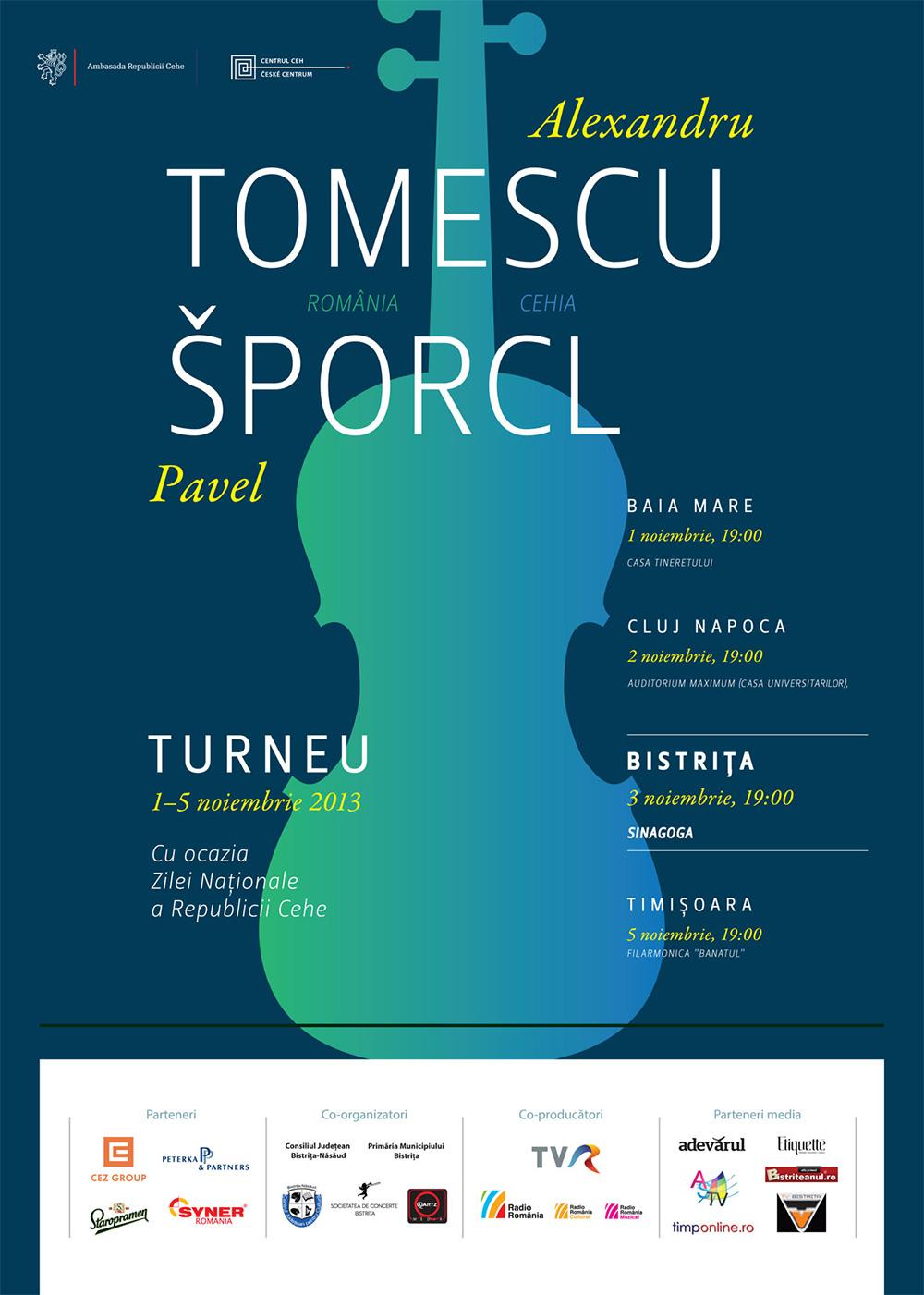 Poster Alexandru Tomescu Pavel Sporcl