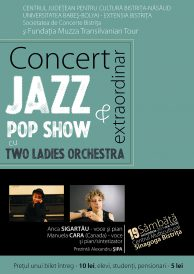 Concert extraordinar Jazz & Pop Show cu Two Ladies Orchestra