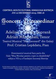 Concert extraordinar: soprana Adelina Diaconu și tenorul Adrian Mărginean